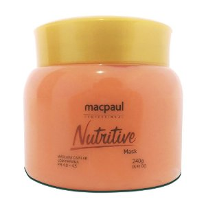 Mac Paul Máscara Capilar De Papaya Nutritive Mask 240g