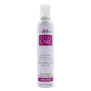 Vital Care Mousse 21 Hours Hold 340g