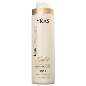 Ykas Liss Treatment Gold Step 2 - Redutor de Volume 1000ml