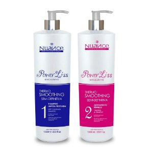NUANCE POWER LISS EXCLUSIVE KIT ESCOVA PROGRESSIVA 2000ML (2 PRODUTOS)