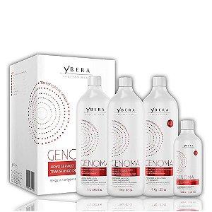 Ybera Genoma Kit Orto Reconstrutor Tratamento Intensivo 4 produtos