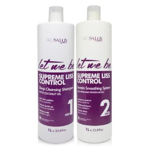 Let Me Be Kit Supreme Liss Control Escova Progressiva 2000ml