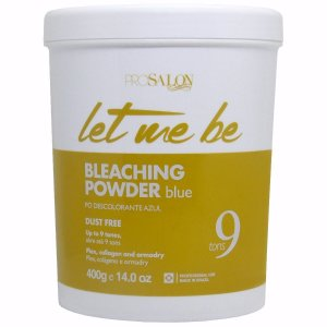 LET ME BE BLEACHING POWDER BLUE PÓ DESCOLORANTE 400G