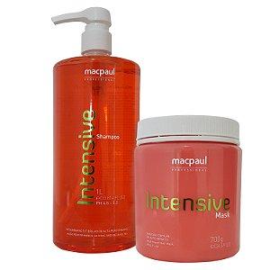 Mac Paul Intensive Kit Shampoo e Máscara Profissional Grande