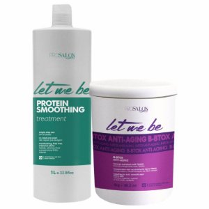 Kit Progressiva Smoothing 1l+B-btox Anti Anging Let Me Be