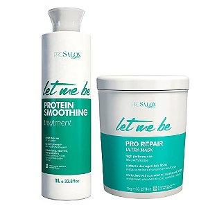 Let Me Be Kit Protein Smoothing + Botox Pro Repair 1000g