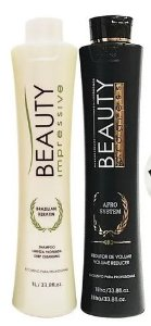 Kit Progressiva Beauty Impressive Afro System 1l