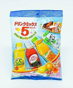 Pacote de balas com sabor de bebidas do Japão
