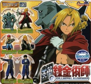 Kit Gashapon - Full Metal Alchemist