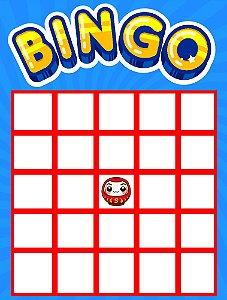 Cartela do Bingo