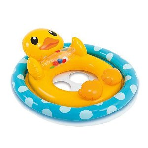 Boia Infantil Pato Amarelo com Assento