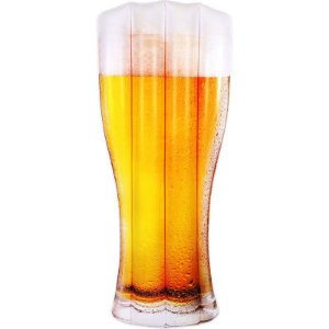 Boia Inflável Copo de Cerveja Chopp Colchão