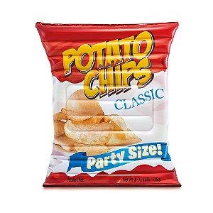 Boia Colchão Batata Chips Gigante
