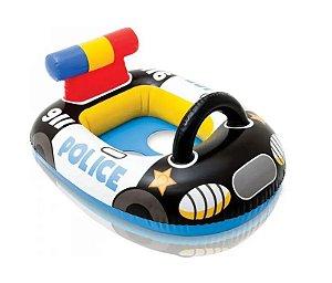 Boia Infantil Carro de Polícia com Assento