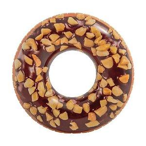 Boia de Donuts Rosquinha Gigante Chocolate 114 cm