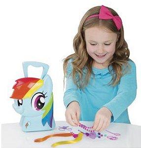 My Little Pony Maleta Rainbow Dash Estilista - Multikids Br377
