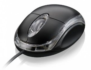 Mouse Multilaser Óptico Usb Preto Mo130