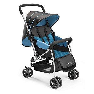 Carrinho de Bebê Berço Flip Azul - Multikids - BB503