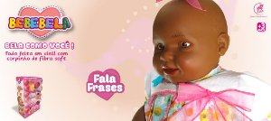 Boneca Bebebela Morena Zap - 1002