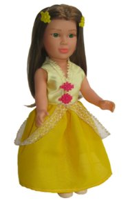 Boneca Princesas Branca de Neve Zap - 1019