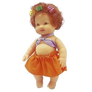 Boneca Meninas Fashion Ruiva Zap - 1026