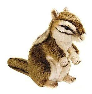 Pelúcia National Geographic Chipmunk Sibéria Esquilo 25 Cm