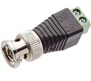 Plug Conector P4 Bnc Borne Kre P/ Cftv Camera Borne