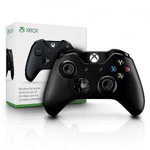 Controle Xbox One S Preto Original Microsoft Com Entrada P2