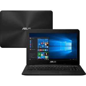 "Notebook Asus Intel Core i5 4GB 1TB Windows 10 Home Tela 14"" Série Z Z450L"