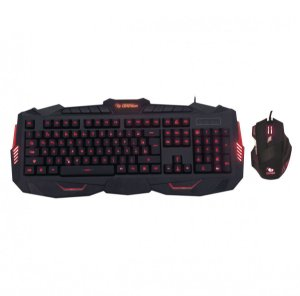 Kit Teclado e Mouse Attacker Leadership