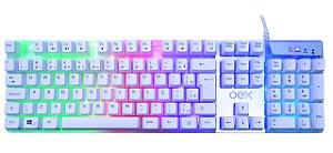 Teclado Gamer Prismatic TC205 Branco OEX