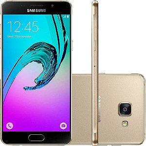 Smartphone Samsung Galaxy A7 Dual Chip Android 6.0 Tela 5.7 Octa-Core 1.9GHz 64GB 4G Câmera 16MP