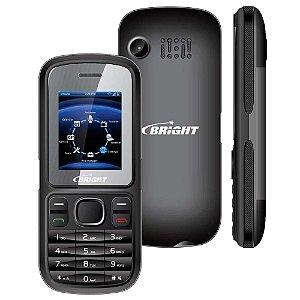 Celular Bright One Preto 0405