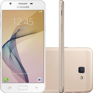 """Smartphone Samsung Galaxy J5 Prime Dual Chip Android 6.0 Tela 5"""" Quad-Core 1.4 GHz 32GB 4G Wi-Fi Câmera 13MP com Leitor de Digital"""