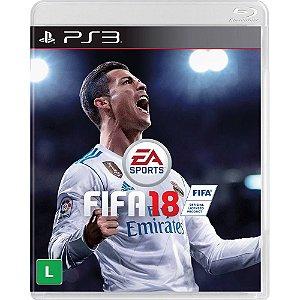 Jogo FIFA 18 Ps3