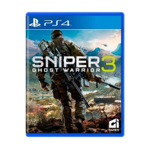 Jogo Ps4 Sniper 3 Ghost Warrior