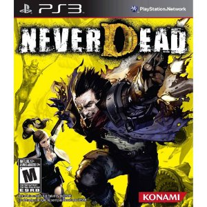 Jogo Ps3 Never Dead Playstation 3