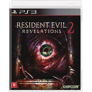 Jogo Ps3 Resident Evil Revelations 2