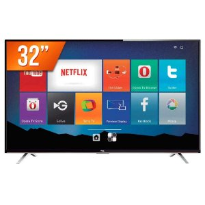 "Smart TV LED 32"" Semp Toshiba TCL HD com Conversor Integrado 3 HDMI 2 USB Wi-Fi"