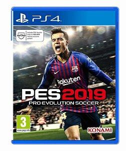 Jogo PES 2019 Playstation 4