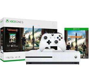 Console Microsoft Xbox One S 1TB + jogo The Division 2