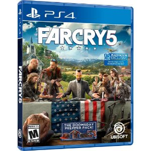 Jogo Ps4 Far Cry 5 Playstation 4