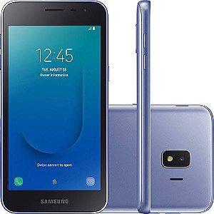 Smartphone Samsung Galaxy J2 Core 16GB Dual Chip Tela 5 Câmera 8MP 5MP Android Go 8.1 Prata