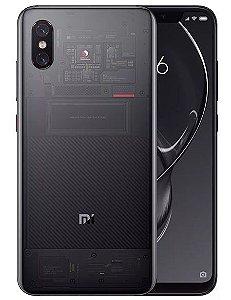 Xiaomi Mi8 Mi 8 Pro 6.21 polegadas 6 GB RAM 128 GB ROM Snapdragon 845 Octa core 4G Smartphone - Preto