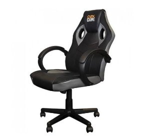 Cadeira Gamer GC200 Preta/Cinza - OEX