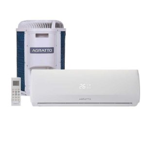 Ar Condicionado Split Hw On/off Agratto Fit Top 12000 Btus Quente/frio 220V Monofasico CCST12QF4-02