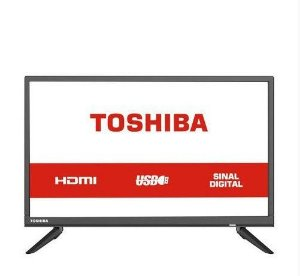 TV Led 24 Polegadas HD 24S1300 Semp Toshiba USB HDMI