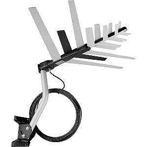 Antena Digital Externa para TV 4 em 1 DTV 2000 VHF/UHF/FM/HDTV - Aquário