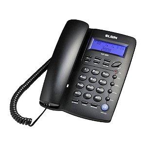Telefone De Mesa C/ Fio Tcf 3000 Preto - Elgin