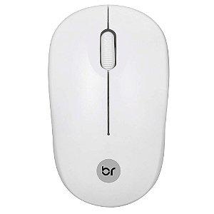 Mouse Sem Fio Bright 2,4GHZ Branco 0473